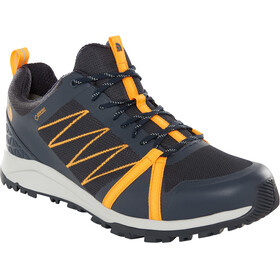 The North Face Litewave Fastpack II GTX Shoes Men urban navy/zinnia orange